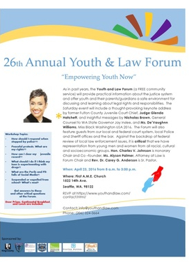 Youth Law Forum