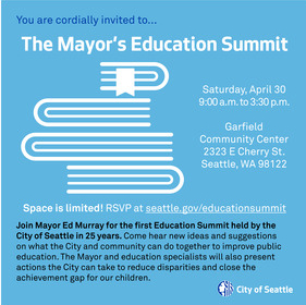 Mayor's Education Summit Square