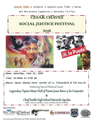 Social justice festival june 2016