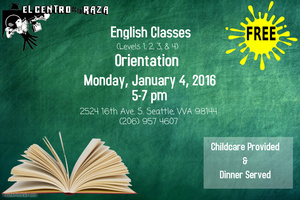 English Classes Orientation