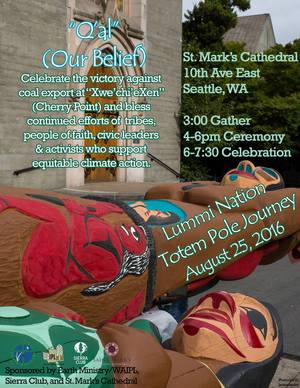 Lummi Nation Event August 2016