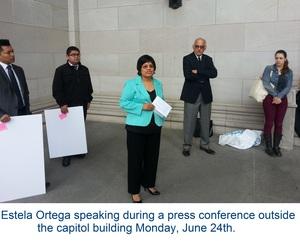 Estela speaking DACA 3