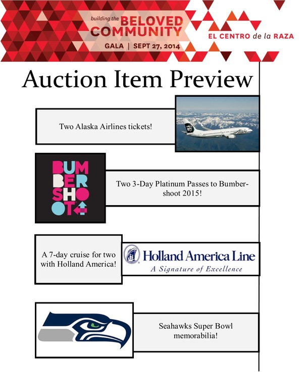 Auction Item Highlights 6.6.14