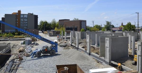 June Plaza Construction 2015