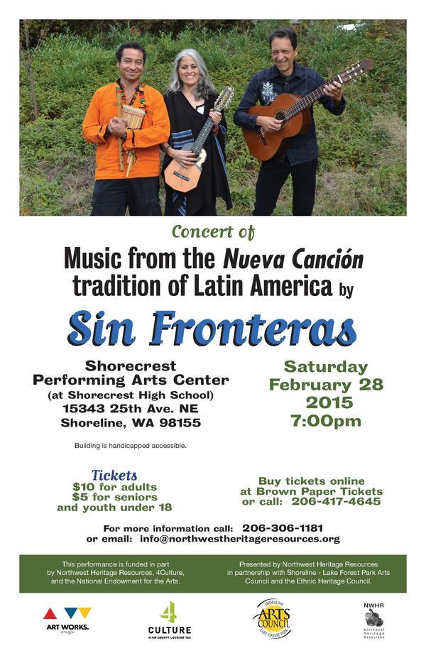 Sin Fronteras concert