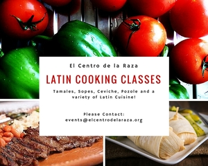 Cooking Class eNews Flier