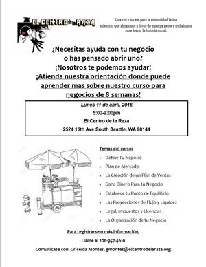 HOC flyer spanish