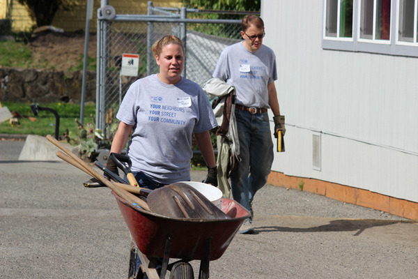 Day of Caring 2013