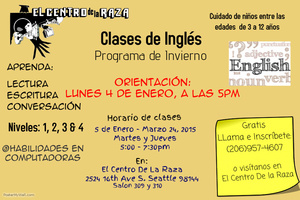 English Classes (In spanish)