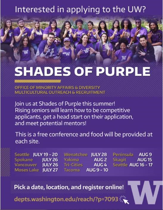 Shades of Purple Event