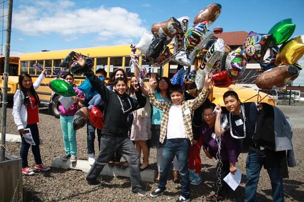 Middle School Graduation Pic